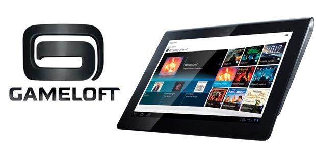 Juegos de Gameloft para Sony Tablet