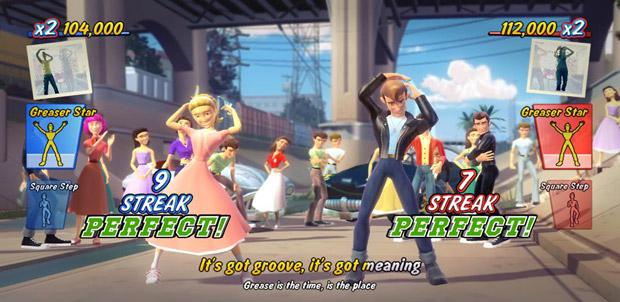 Demo de Grease Dance para Kinect