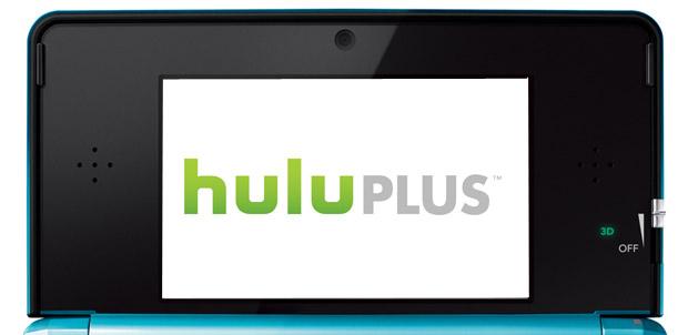 Hulu Plus para Nintendo 3DS
