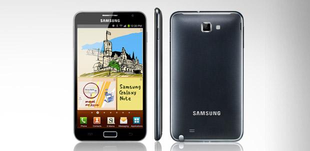 Primer comercial de Galaxy Note