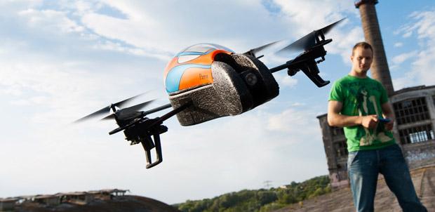 AR. Drone vuela en México