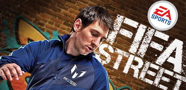 Lionel Messi en la portada de FIFA Street