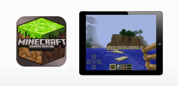 Minecraft – Pocket Edition llega a iPhone