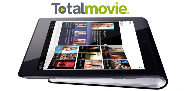 Totalmovie en Sony Tablet Serie S