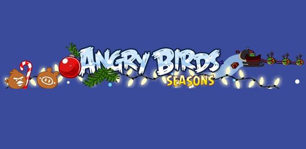 Angry Birds antes de Navidad