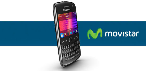 BlackBerry Curve 9360 con Movistar