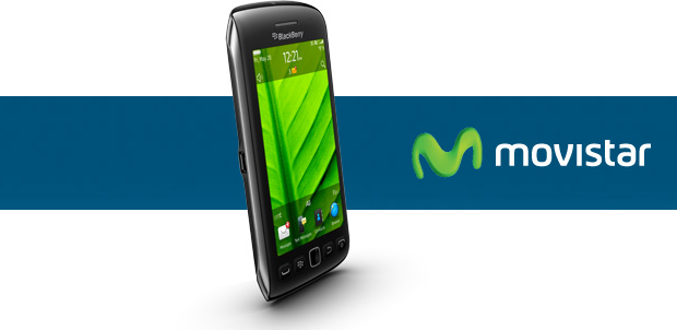 BlackBerry Torch 9860 llega a Movistar