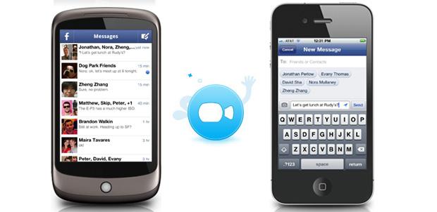 Facebook Messenger con videollamada