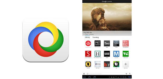 Google Currents para tablets y smartphones