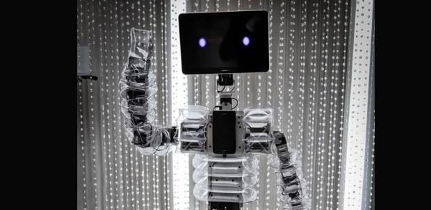 Robot usa Samsung Galaxy como cerebro