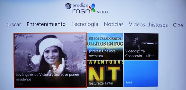 Prodigy MSN Video llega a Xbox 360