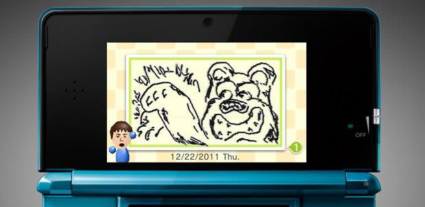 Swapnote para Nintendo 3DS