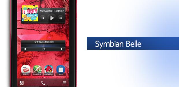 Symbian Belle a Nokia N8