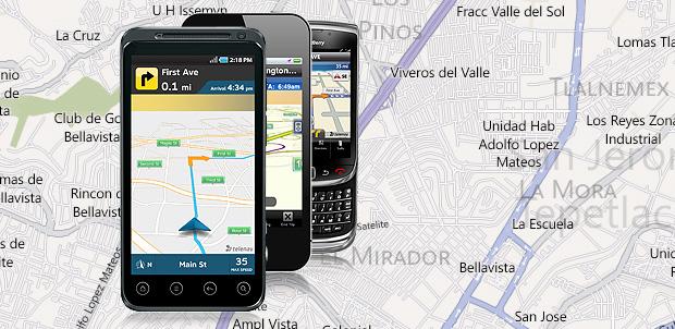 Navegación GPS en HTML5