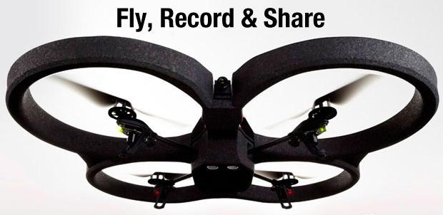 [CES 2012] Parrot AR. Drone 2.0