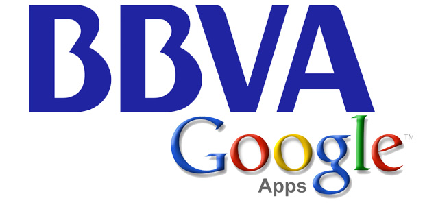 BBVA se cambia a Google Apps