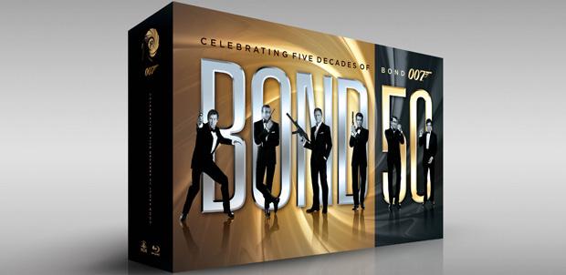 50 años de James Bond en Blu-ray