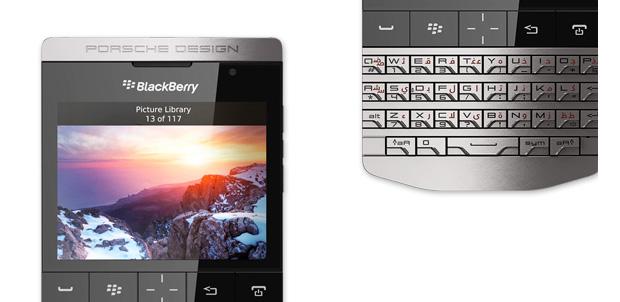 BlackBerry Porsche Design P9981 en preventa