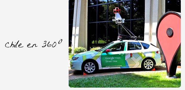 Vehículos de Google Street View en Chile