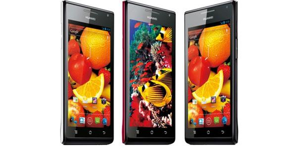 [CES 2012] Huawei Ascend P1 S
