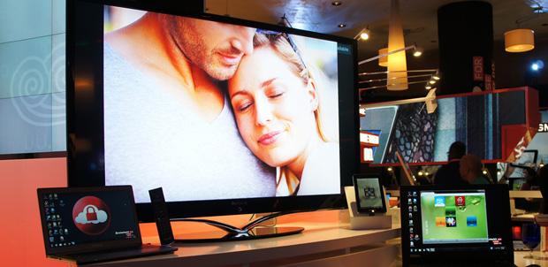 [CES 2012] Lenovo K91, Smart TV con Android 4.0