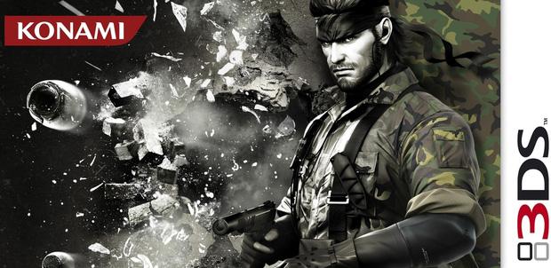 MGS: Snake Eater para Nintendo 3DS