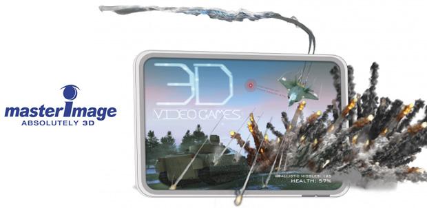 [CES 2012] MasterImage mostrará 3D sin lentes