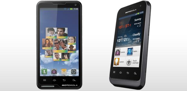 [CES 2012] Motorola Defy Mini y Motoluxe