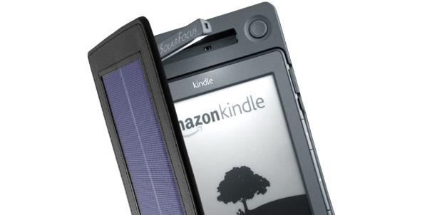 [CES 2012] Cubierta solar para Kindle