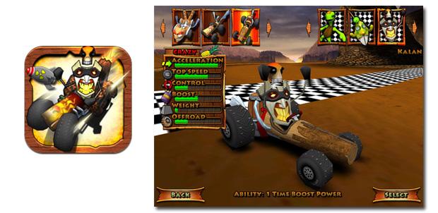 Tiki Kart 3D para iPad