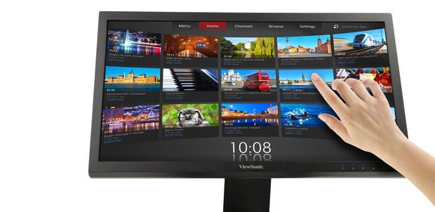 Monitores 3D y táctiles de ViewSonic