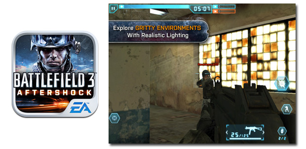 Battlefield 3: Aftershock para iOS