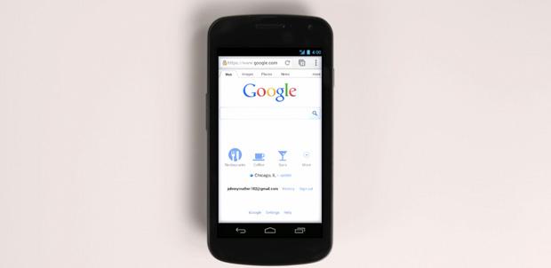 Google Chrome en dispositivos Android