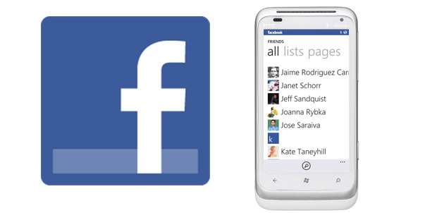Facebook para Windows Phone se actualiza