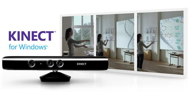 Kinect para Windows ya disponible