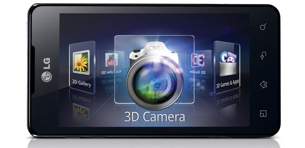 LG Optimus 3D Max smartphone poderoso