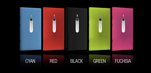 Nokia Lumia 800 en más colores