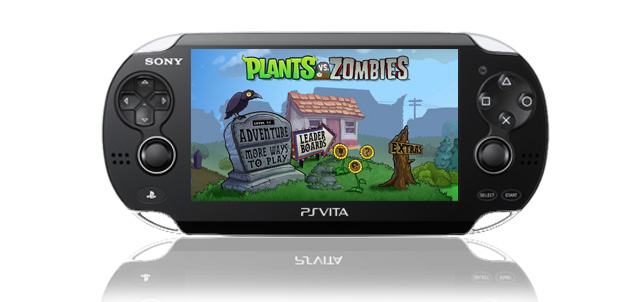 Plants vs Zombies para PlayStation Vita