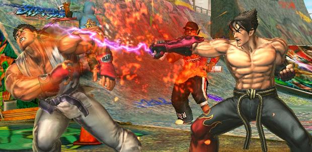 Street Fighter X Tekken un poco de arte