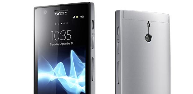 Xperia P el nuevo smartphone de Sony