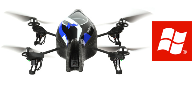 Parrot AR. Drone con Windows Phone