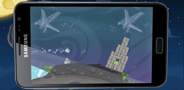 Angry Birds Space el 22 de marzo