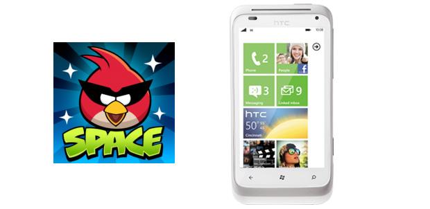Angry Birds Space llegará a Windows Phone