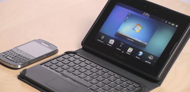 BlackBerry Mini Keyboard con Citrix