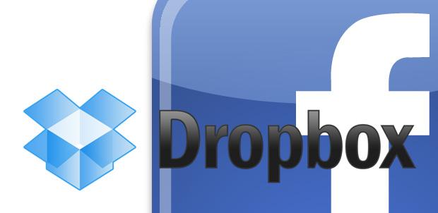 Dropbox ahora trabaja con Facebook