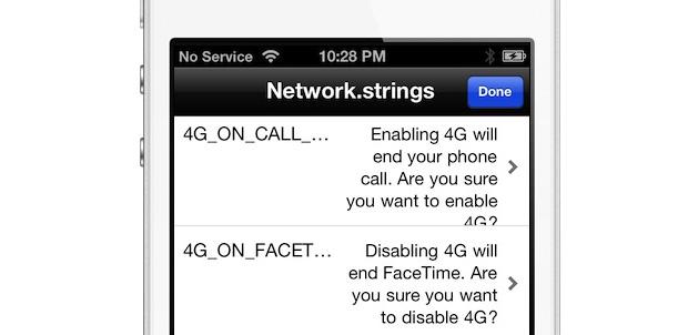 El nuevo iPhone con FaceTime 4G