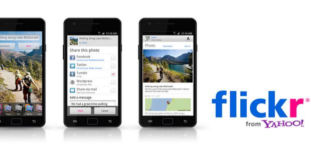 Flickr ahora para sistemas Android