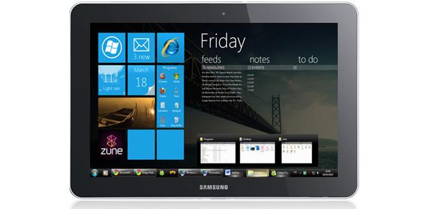 Galaxy Tab 10.1 con interfaz Metro