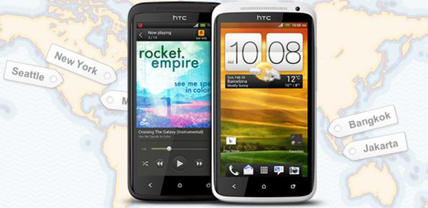 HTC One de gira por todo el mundo