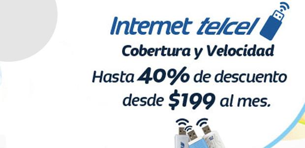 Internet Telcel con más conexión